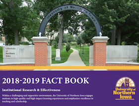 2018-19 UNI Factbook Cover