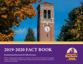 2019-2020 UNI Factbook Cover